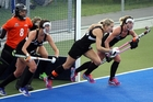 New Zealand takes on Korea in the Festival of Hockey, at the Hawke's Bay Regional Sports Park in Hastings in April. Photo / Paul Taylor