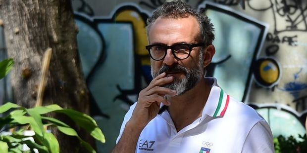 Loading Italian cook Massimo Bottura is helping the homeless by providing them with leftover food from the Olympic Village. Photo / AFP