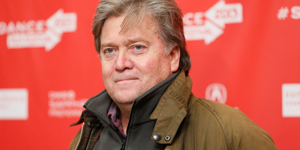 Stephen Bannon. Republican Donald Trump is overhauling his campaign again, bringing in Breitbart News' Bannon as campaign CEO. Photo / AP