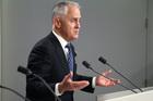 Australia's Prime Minister Malcolm Turnbull. Photo / AP