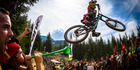 The Crankworx mountain bike event has added to Rotorua's more traditional attractions. Photo / Clint Trahan