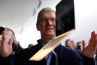 Tim Cook shares the words of wisdom Steve Jobs bestowed on his successor. Photo / Getty Images