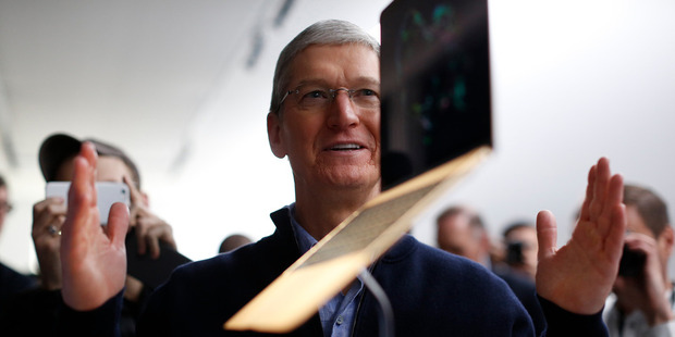 Loading Tim Cook shares the words of wisdom Steve Jobs bestowed on his successor. Photo / Getty Images