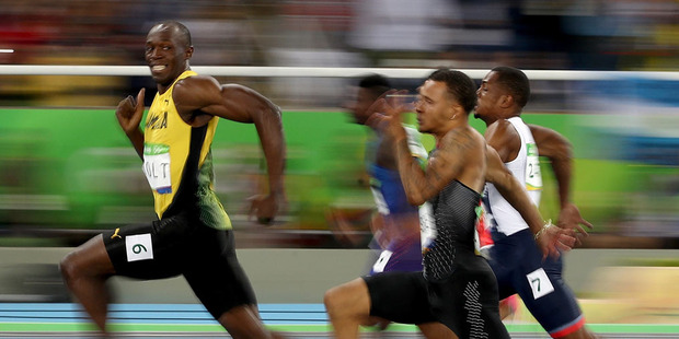 Loading Usain Bolt of Jamaica competes in the Men's 100 meter semifinal. Photo / Getty Images.