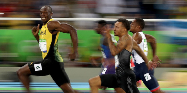 Loading The Usain Bolt photo that is sending the internet crazy. Picture: Cameron Spencer/Getty Images Source:Getty Images.