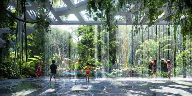 Dubai's Rosemont Hotel & Residences will become the world's first hotel with a rainforest when it opens in 2018. Photo / Plompmozes