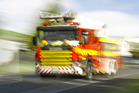 Emergency services are at the scene of a logging truck crash near Dargaville.