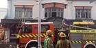 Watch: Fire crews battle Pukekohe shopping mall blaze, fears people trapped inside