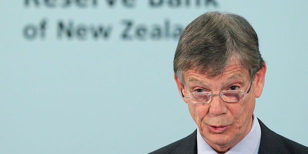 Reserve Bank Governor Graeme Wheeler. Photo / Getty Images