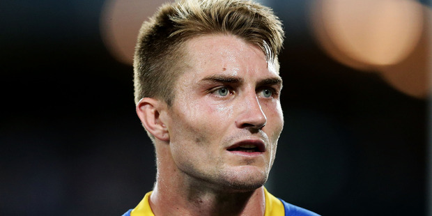 Kieran Foran of the Eels looks on during the round three NRL match against the Bulldogs. Photo / Getty Images