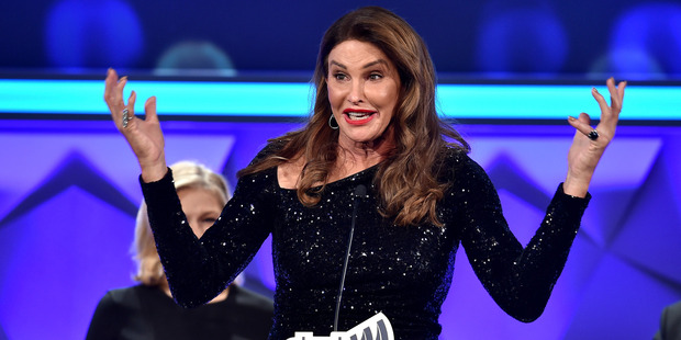Caitlyn Jenner speaks at the 27th Annual GLAAD Media Awards in New York. Photo / Getty Images