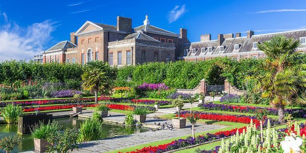 Kensington Palace is flourishing. It is home to Prince William, the Duchess of Cambridge and Prince Harry - and from next year, Princess Eugenie. Photo / Getty Images