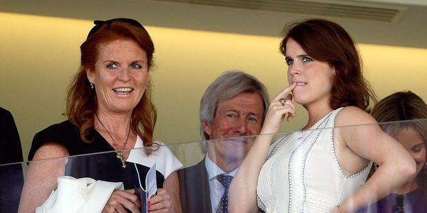 Sarah Ferguson, Duchess of York and Princess Eugenie. Photo / Getty Images