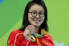 Yuanhui Fu's honesty has prompted discussion among many Chinese nationals. Photo / Getty Images