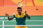 Sawan Serasinghe, of Australia, in action at the Rio 2016 Olympics. Photo / Getty Images