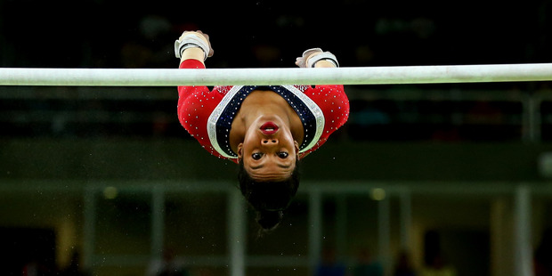 Gabby Douglas has suffered a brutal fall from grace. Photo / Getty Images.
