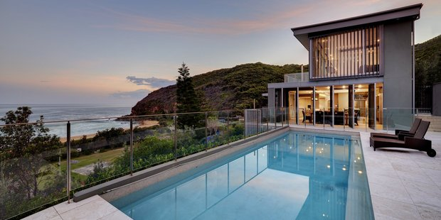 Killcare Beach House is a restful haven 100km north of Sydney's hustle and bustle. Photo / Supplied