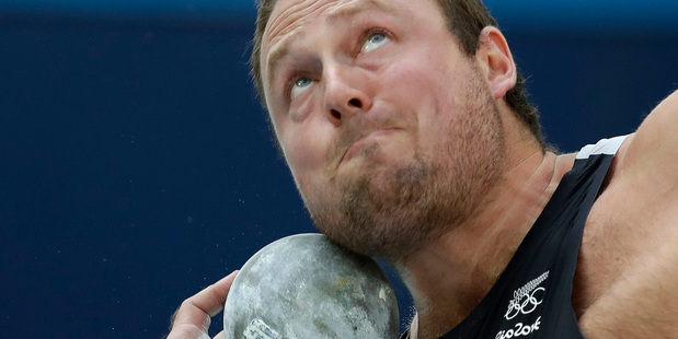 World indoor shot put champion Tom Walsh will contest the Olympic final alongside New Zealand teammate Jacko Gill. Photo / AP