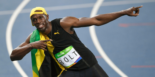 Loading Usain Bolt's mum is pretty keen on some grandkids. Photo / AP
