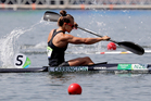 Kayaker Lisa Carrington started the flood of medals for New Zealand. Photo / AP