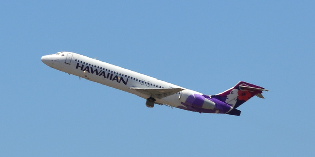 Hawaiian Airlines Boeing 717. Photo / Simon_sees