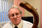 Peter Coombe, 82, has lost his dad's and granddad's walking, which is stick similar to this one. Photo/George Novak