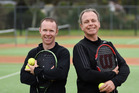 NEW BEGINNINGS: Mount Maunganui and Otumoetai tennis coaches Paul Arnott, left, and Paul Bell begin work early next month. PHOTO/GEORGE NOVAK