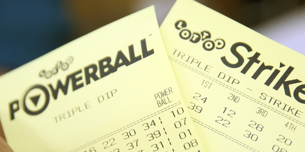 A Hamilton man found a lost Lotto ticket in his desk drawer, worth more than $300,000. Photo / File