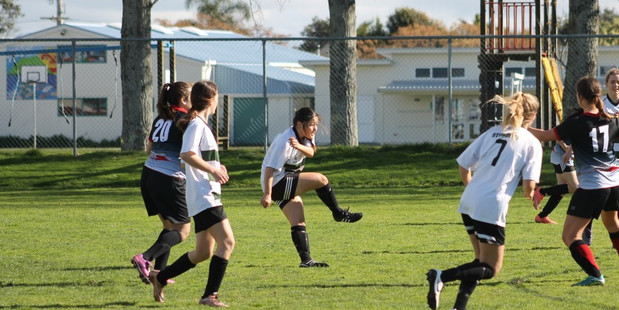 BRIGHT FUTURE: Otumoetai Academy Talent girls in action. PHOTO/SUPPLIED 140816sp17BOP