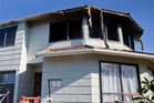 GUTTING: A house fire ripped through the upstairs section of a Bethlehem home yesterday. PHOTO/ANDREW WARNER