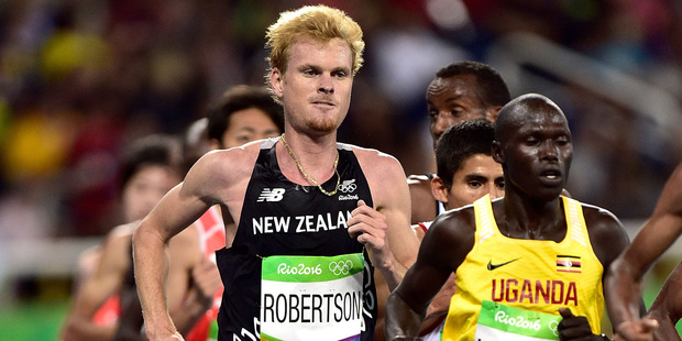 Zane Robertson has repeated his claims that his sport is plagues by drug cheats. Photo / photosport.nz