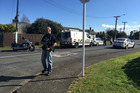 Armed police deal with an incident in Papakura. Photo / Michael Craig