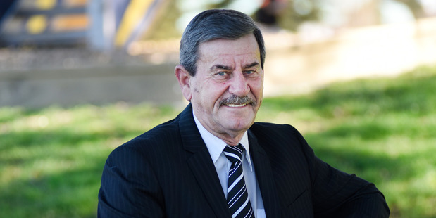 IN TO WIN: Tauranga City Council mayoral candidate Murray Guy. PHOTO/GEORGE NOVAK