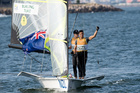 Peter Burling and Blair Tuke won gold for the 49er class sailing race the 2016 Olympics. Photo / photosport.nz