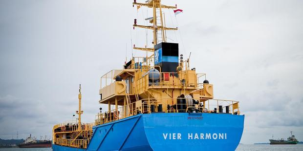 The oil tanker Vier Harmoni has been hijacked and taken into Indonesian waters. Photo / Supplied