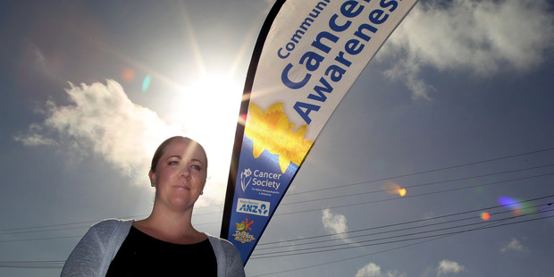 Jane Beamsley is the new manager of the Cancer Society's Wanganui centre. Photo/ Stuart Munro