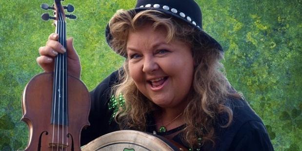 Fiddle player Marian Burns