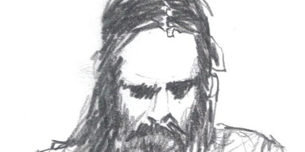 James K Baxter sketch