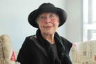 OFFENDED:Rosemary Baragwanath was insulted when asked to remove her hat in the bank on Wednesday.