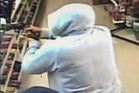 Police are seeking this man in relation to a robbery attempt. Photo / Supplied