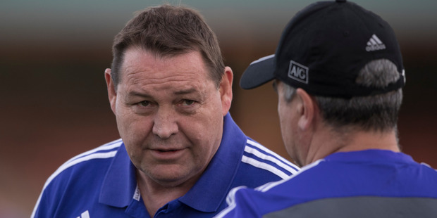 In a typical test build-up, All Blacks coach Steve Hansen - a former police officer - lays out his expectations on a Sunday and details how he wants his team to play. Photo / Brett Phibbs