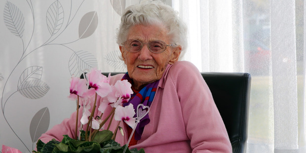 Kath Smith turns 100 on Saturday. Photo/Stuart Munro