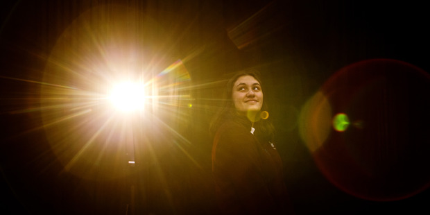 Loading ACTING: Rotorua Girls' High School student Isobella Cook, 16, has been selected to participate in the National Shakespeare Schools Production. PHOTO/STEPHEN PARKER