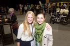 Samantha Tomkinson and Elodie Hazera were inspired by Tauranga TEDx. PHOTO/ANDREW WARNER