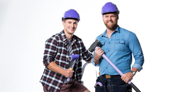 Team Purple always wins on The Block NZ. Photo / Supplied