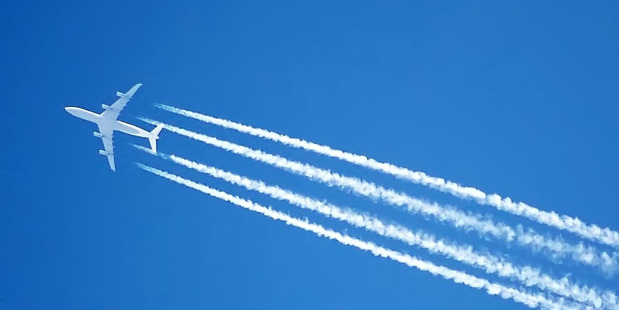Chemtrails aren't real. Photo / Wikimedia Commons