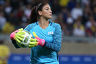 United States goalkeeper Hope Solo has come under fire for her comments about Sweden. Photo / AP
