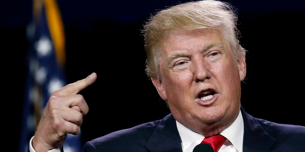 Donald Trump proposes only the immigrants who will flourish and to embrace a tolerant American society should be issued visas. Photo / AP
