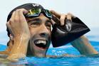 Michael Phelps. Photo / AP