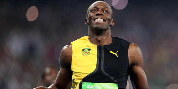 Usain Bolt's Olympic 100-metre victory may have prompted ultimately unfounded reports of gunshots at JFK airport. Photo / AP
